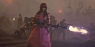 фэнтези, люди, оружие, монстры, туман, нападение