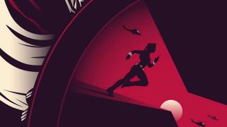 black widow, digital, poster, кино, фантастика, черная вдова