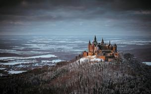 Hohenzollern Castle обои для рабочего стола 2048x1280 hohenzollern castle, города, замки германии, hohenzollern, castle