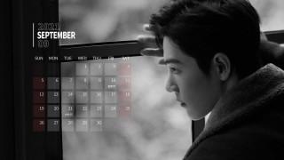 календари, знаменитости, сяо, джань, актер, пальто, лицо, окно