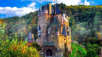 eltz castle, города, замки германии, eltz, castle