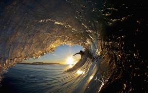 природа, моря, океаны, волна, море, человек