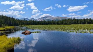 Red Rock lake, Colorado