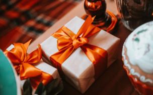 подарки, банты, ленты