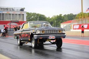 ford, galaxie, dragster