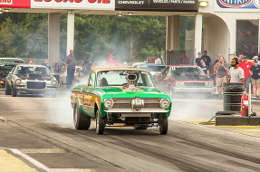 ford, falcon, pickup, dragster