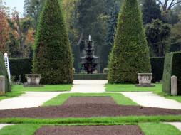 парк, фонтан
