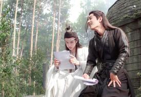 Ван Ибо, Сяо Чжань, костюмы, съемки