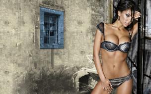 Nikoleta Lozanova, девушки, lingerie