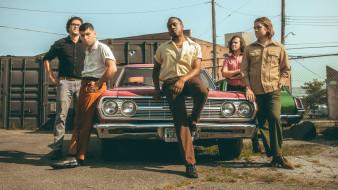 durand jones and the Indications, группа, музыка, автомобиль, мужчины