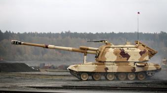 установка, самоходная, артиллерия, сау, гаубица, мста-с, увз, arms expo