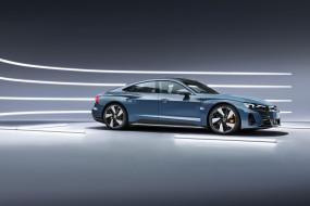 автомобили, audi, e, tron, gt, quattro, worldwide, 2021, серый, металлик, седан