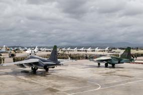 авиация, боевые самолёты, аэродром, сухой, cу24м, cу25cм, истребитель, су35, cирия, вкс, россии, ударная, военно, воздушные, силы