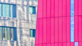 города, - здания,  дома, окна, город, современная, архитектура