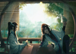 аниме, mo dao zu shi, вэй, усянь, лань, ванцзы