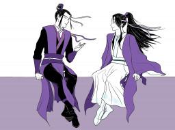 аниме, mo dao zu shi, цзян, чэн, лань, сичэнь