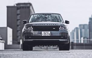 автомобили, range rover, range, rover, vogue, вид, спереди, 2021, года, l405, внедорожники, jp, spec, роскошные