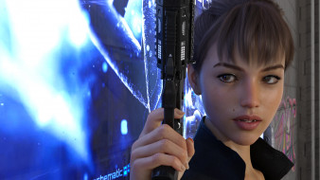 3д графика, фантазия , fantasy, девушка, фон, пистолет