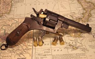 оружие, револьверы, револьвер, патроны, карта