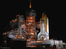 space, shuttle, discovery, during, preperation, for, the, return, to, flight, космос, космодромы, стартовые, площадки