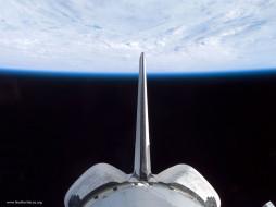 discovery, in, earth, orbit, космос, космические, корабли, станции