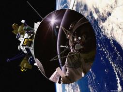 обои для рабочего стола 1024x768 космос, космические, корабли, станции