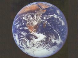 добро, пожаловать, на, планету, земля, космос