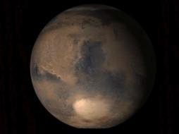 марс, северный, полюс, космос