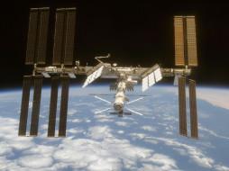 МКС обои для рабочего стола 1600x1200 мкс, космос, космические, корабли, станции