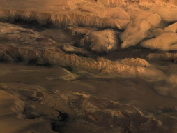 Марс - поверхность обои для рабочего стола 1600x1200 марс, поверхность, космос