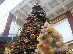 christmas, trees, big, and, small, праздничные, Ёлки