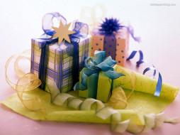 праздничные, подарки, коробочки