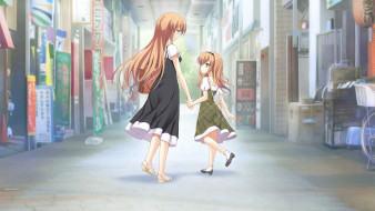 аниме, atled, everlasting, song, девушки
