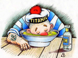 titanic, юмор, приколы