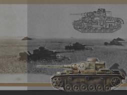 техника, военная, гусеничная, бронетехника, танк, pz, iii