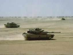 гусеничная бронетехника, танк, М1А2 Абрамс