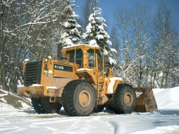 cat966e, техника, строительная