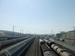 вокзал, техника, поезда