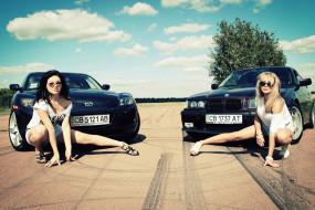 обои для рабочего стола 1600x1070 автомобили, авто, девушками, и, девушки