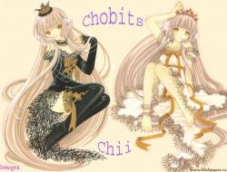 Чии, из, chobits, аниме