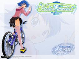 аниме, hello, world