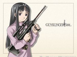 gun, slinger, girl, аниме