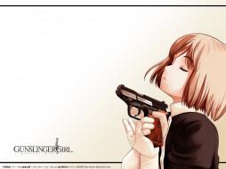 gunslinger, girl, аниме, gun, slinger