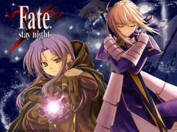 fate, аниме, stay, night
