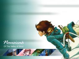 аниме, nausicaa, of, the, valley, wind