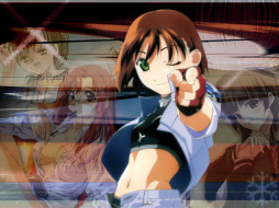 аниме, starship, girl, yamamoto, yohko