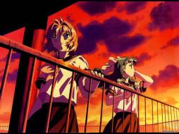 аниме, onegai, twins