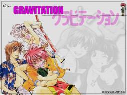 аниме, gravitation