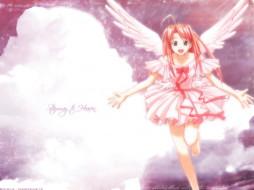 аниме, love, hina