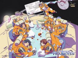 обои для рабочего стола 1024x768 аниме, planetes